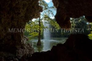 Lago en el Palacio de Cristal