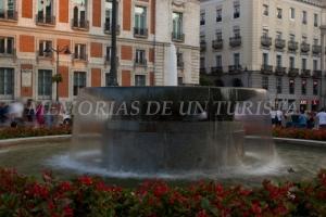 Fuente en la Puerta del Sol