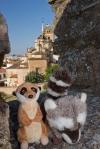 En la muralla templaria de Jerez de los Caballeros