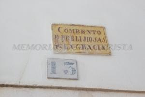 Cartel del Convento de Nuestra Señora de Gracia