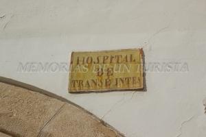 Cartel del Hospital de Pobres y Transeúntes