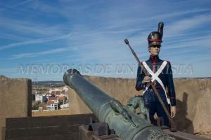 Soldado y cañón