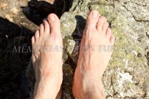 Descansando los pies