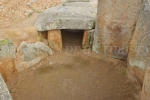 Dentro de la cámara funeraria