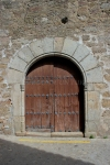Puerta de la iglesia de Villanueva de la Vera, Cáceres