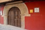 Puerta de la Casa de los Escudos en Valverde de la Vera, Cáceres