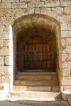 Puerta de la Iglesia de San Pedro en Santibáñez el Alto, Cáceres