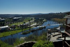 Vistas hacia el río Tera