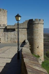 En los alrededores del castillo