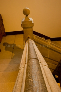 Barandilla de las escaleras