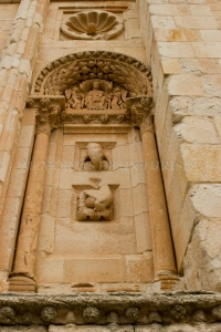 Detalles de la Puerta del Obispo