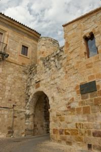 Arco en la muralla