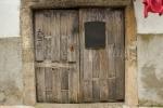 Puerta en San Martín de Trevejo, Cáceres.
