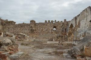 Dentro del castillo