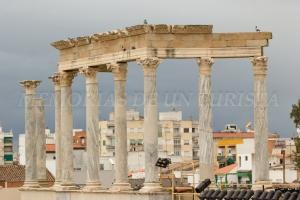 Columnas del Teatro Romano de Mérida