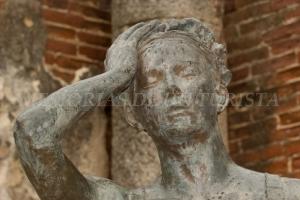 Estatua del Teatro Romano de Mérida