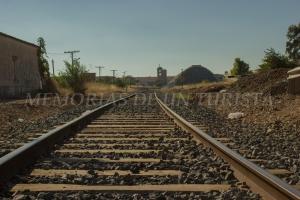 Antigua vía de tren