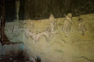 Grafiti de casa del Poblado Minero