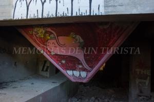 Grafiti del interior de La Fosa