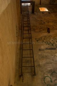 Interior de la Torre de la mina de San Salvador