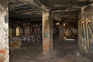 Interior de una casa de la Mina de la Esperanza