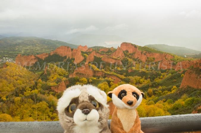 Mery y Pepe en Las Médulas de León
