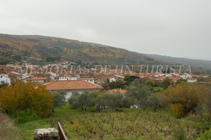 Llegada a San Martín de Trevejo