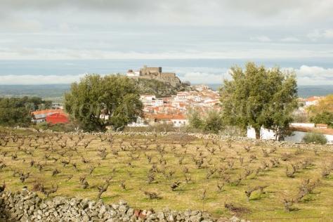 El castillo de Montánchez