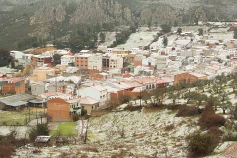 Cañamero nevado