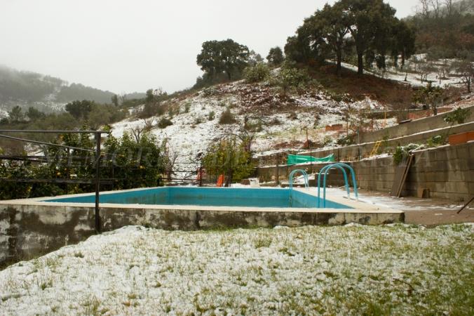 Piscina nevada