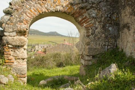 Arco en ruinas