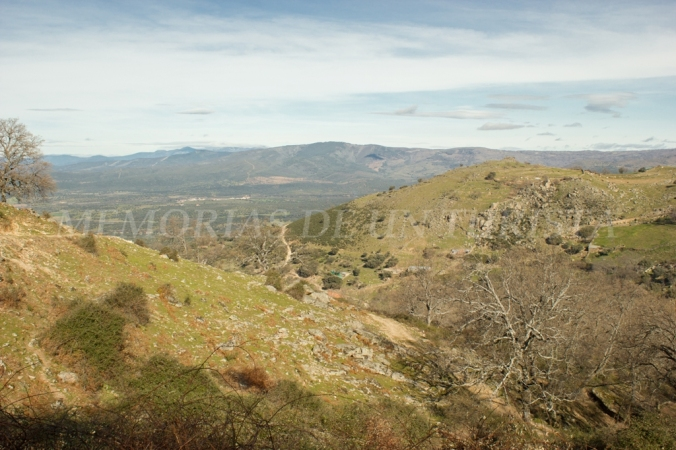 Valle del Ambroz a nuestros pies