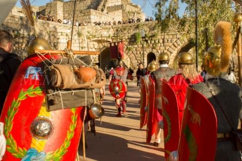 Desfile de romanos