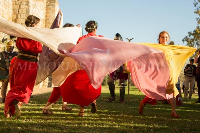 Baile de romanas