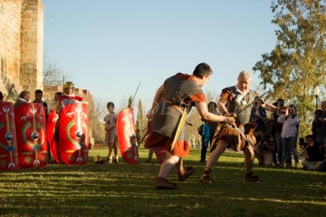 Lucha de romanos