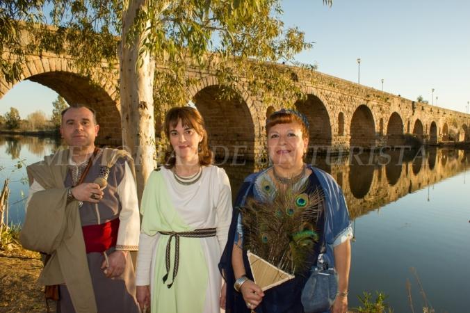 Romanos en el puente