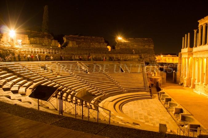 Cavea del Teatro Romano de Mérida