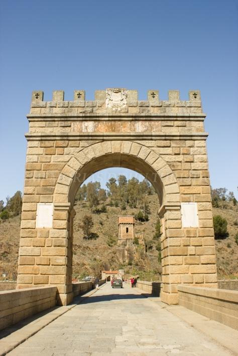 Arco del Puente Romano de Alcántara