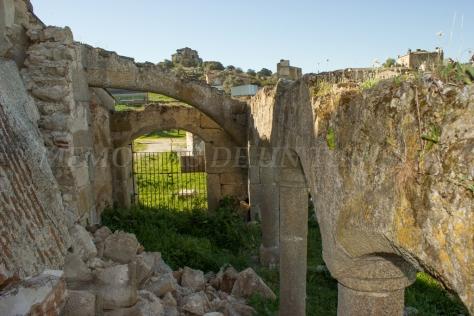 Arcos de la iglesia