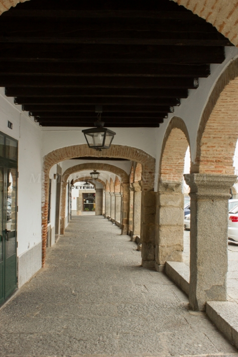 Arcos en la Plaza Grande