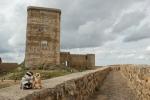 Mery y Pepe en el Castillo de Feria