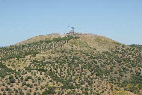 Forte da Graça en fase de restauración
