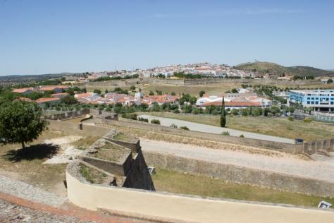 Vistas desde el Forte de Santa Luzia