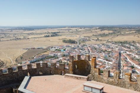 Desde la torre del castillo