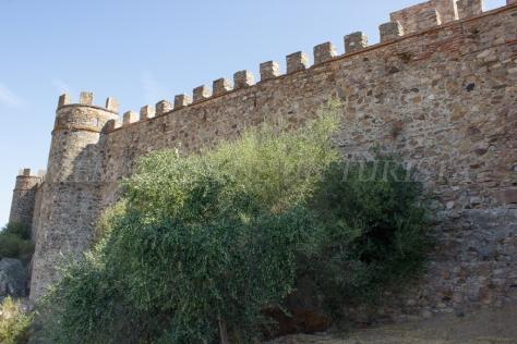 Llegando al Castillo de Miraflores