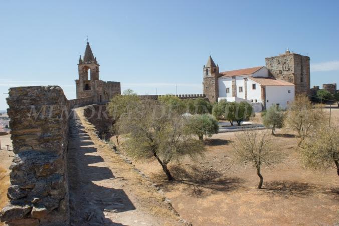 Vistas generales del castillo