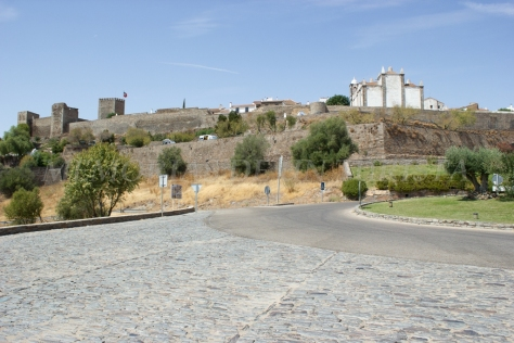 Muralla protectora de Monsaraz