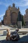 Mery y Pepe en el Convento de San Esteban (Salamanca)